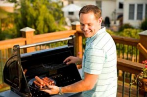 grilling-outside