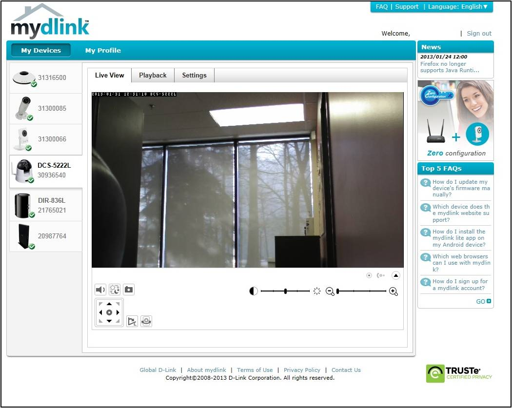 How To Set Up Your Mydlink Wi Fi Camera D Link Blogd