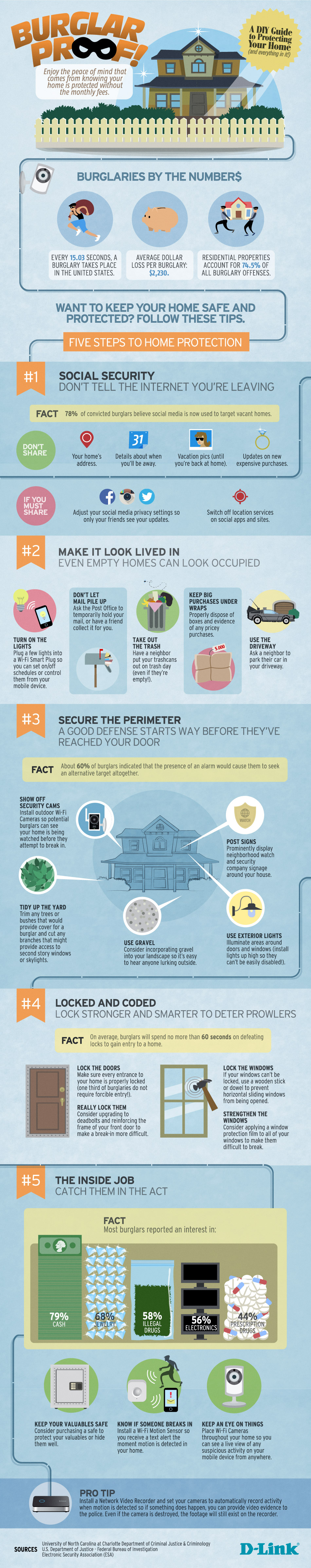 Burglar Proof A Diy Guide To Protecting Your Home D