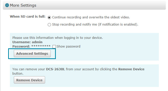 How to Change the Video Clip Length on Your Wi-Fi Camera - D-Link